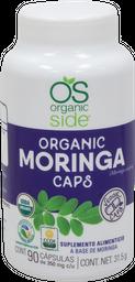Moringa Organico 90 Capsulas Organic Side