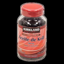 Aceite de Krill 160 Cápsulas (500 mg)
