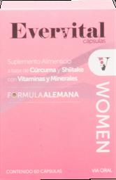 Suplemento Alimenticio Evervital Woman 60 Cápsulas