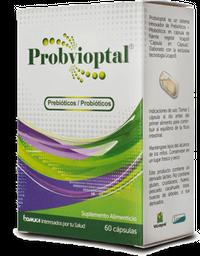 Probvioptal Prebiotico/Probioticos 60 Capsulas