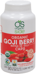 Goji Organic Side Orgánico 90 Cápsulas