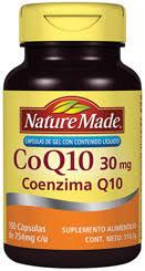 Coenzima Q10 con 150 Capsulas Nature Made