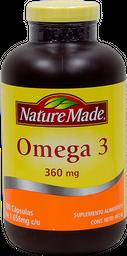 Suplemento Alimenticio Nature Made Omega 3 300 Cápsulas