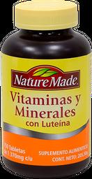 Suplemento Alimenticio Nature Made Con Luteína 150 U