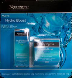 Gel Facial Hidrat Y Gel Contorno Ojos Neutrogena Hydro Boos