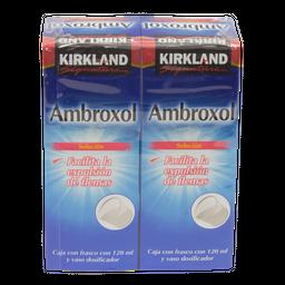 Ambroxol Antitusivo de 120 mL Kirkland Signature 2 U