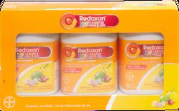 Vitaminas Redoxon Infantil 100 Tabletas Masticables x 3