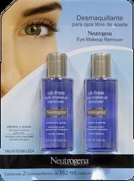 Desmaquillante Para Ojos de 162 mL Neutrogena 2 U