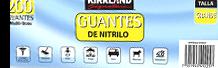 Guantes De Nitrilo Chicos De 200 Kirkland Signature 2 U