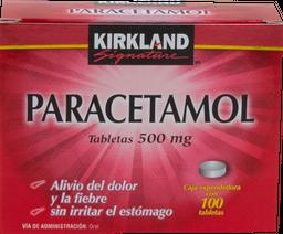 Kirkland Signature 100 Tabletas (500 mg)