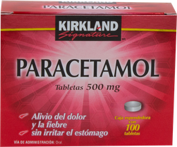 Kirkland Signature 100 Tabletas (500 mg)
