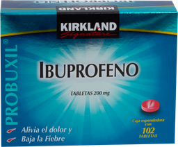 Kirkland Signature Ibuprofeno 102 Tabletas (200 mg)