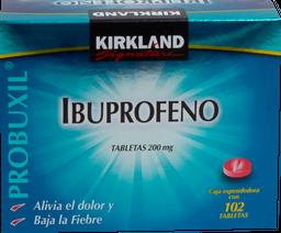 Kirkland Signature Ibuprofeno 102 Tabletas (200 mg)