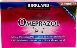 Omeprazol Kirkland Signature 60 Cápsulas x 2 (20 mg)
