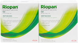 Riopan con 20 Sobres 10 mL 2 U