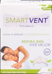 Bandas Nasales Smart Vent 40 U