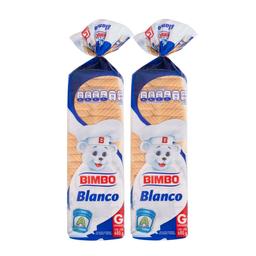 Pan de Caja Bimbo Blanco Grande 2 U