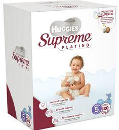 Huggies Supreme Platino etapa 5 niño 120 U