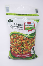 Verdura Congelada Nutri Verde Mezcla Campesina 2.5 Kg