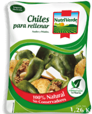 Chiles Nutri Verde Enteros Para Rellenar 16 U