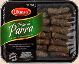 Hojas de Parra Libanius 500 g