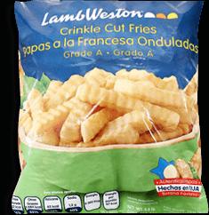 Papa Congelada Lamb Weston Corte Ondulado 13.6 Kg