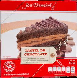 Pastel De Chocolate Pre-Rebanado Jon Donaire 1.6 Kg