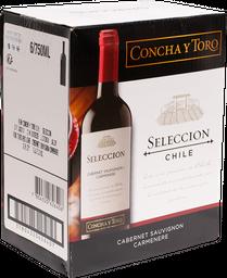 Vino Tinto 6 Botellas De 750 mL Seleccion Concha Toro
