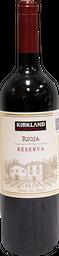 Rioja Reserva Vino Tinto 750 mL Kirkland Signature