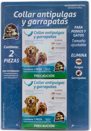 Perros Y Gatos Collar Antipulgas 2 U