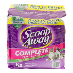 Arena Para Gato Scoop Away Complete Performace 19 Kg