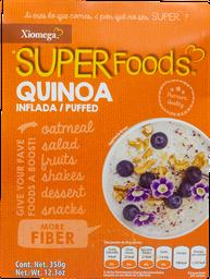 Super Foods Xiomega Quinoa Inflada 350 g