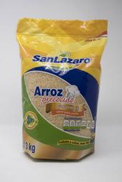 Arroz Precocido San Lazaro 3 Kg