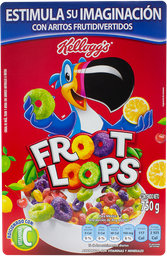 Cereal Kellogg's Froot Loops Con Sabores Frutales 750 g