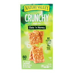 Barra de Granola  Nature Valley Con Miel 60 U