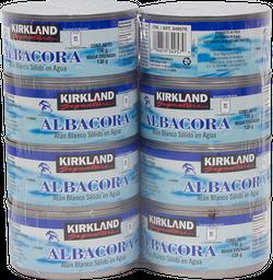 Atún Kirkland Signature en Agua 198 g X 8