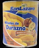 Durazno Mitades de 820 g San Lazaro 3 U
