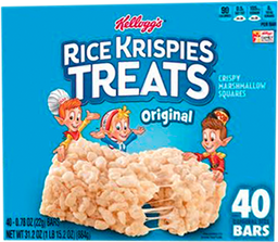 Barra de Arroz Rice Krispies Treats Sabor Vainilla 22 g X 40