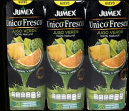 Jugo Verde 100% Natural de 1 L Jumex Unico Fresco 3 U