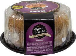 Rosca La Brioche Rellena de Queso Crema  1.05 g