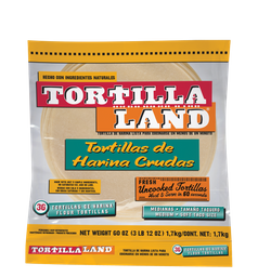 Tortilla de Harina Tortilla Land 1.7 Kg