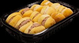 Mini Bollos Rellenos de Roast Beef/Pavo 12 U