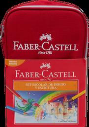 Estuche Escolar 34 U Faber Castell