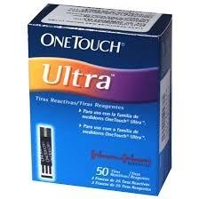 Tiras Reactivas 50 U One Touch Ultra