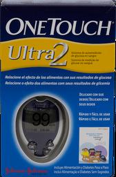 Glucometro One Touch Ultra 2 +10 Tiras + 10 Lancetas  21 U