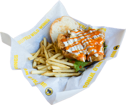Buffalo Ranch Chicken Sándwich