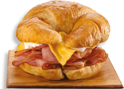 Croissant'wich Jamón y Queso