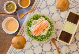 Seaweed Salad con Surimi