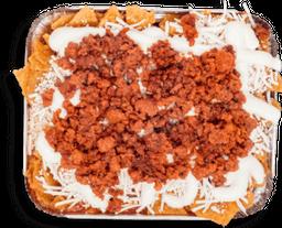 Chilaquiles Especiales con Chorizo