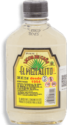 Licor de Caña El Mezcalito Original Botella 200 mL